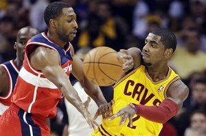 Kyrie vs. wizards