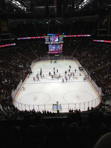 coyotes game
